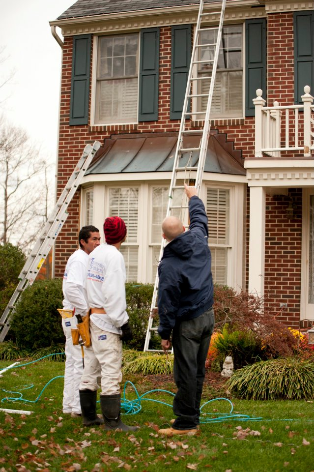 home Exterior painting, House Painters