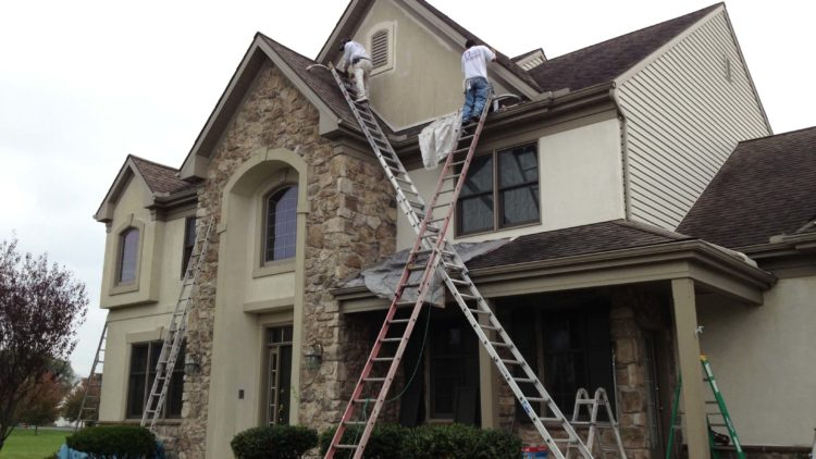 house painter, exterior painting
