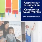 University Painters covid-19 plan